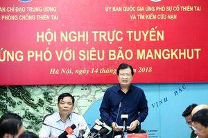 Quảng Ninh - Thanh Hóa nằm trọn trong vùng ảnh hưởng của siêu bão Mangkhut