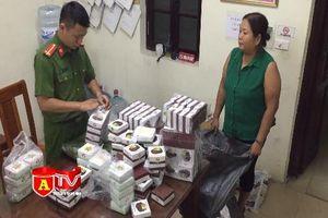 Thu giữ hơn 300 sản phẩm quân tư trang không rõ nguồn gốc xuất xứ