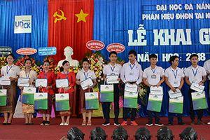 Phân hiệu Đại học Đà Nẵng tại Kon Tum khai giảng năm học mới