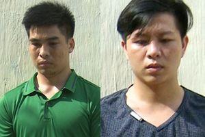 Bắt hai thanh niên giật dây chuyền 2,2 lượng vàng