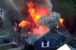 Nổ đường ống dẫn khí ở Mỹ: 'Cháy to đến nỗi không còn thấy bầu trời'
