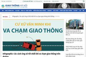 Thể lệ Cuộc thi 'Vì An toàn giao thông Thủ đô năm 2018' trên Internet