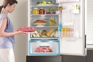 Samsung giới thiệu tủ lạnh ngăn đá dưới có cách đông mềm thịt, cá rất đặc biệt