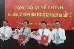 Đà Nẵng thay Giám đốc Sở KHĐT