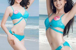 Top 43 Hoa hậu Việt Nam khoe dáng đẹp như búp bê với bikini