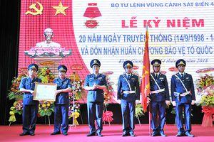 Bộ tư lệnh Vùng Cảnh sát biển 4 đón nhận Huân chương Bảo vệ Tổ quốc hạng Ba