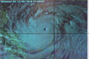 Siêu bão Mangkhut ảnh hưởng trực tiếp đến Vịnh Bắc Bộ