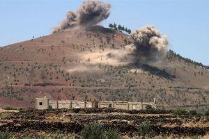 Căn cứ cuối cùng của IS tại miền nam Syria bị tấn công dữ dội