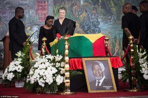 Các nhà lãnh đạo cấp cao tới tưởng niệm cố Tổng thư ký LHQ Kofi Annan
