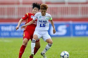 Lượt về giải bóng đá nữ vô địch quốc gia: Hai đại gia 'chia điểm'