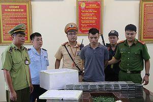 Hai mẹ con buôn bán ma túy 'khủng' bị bắt