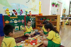 Ở trường mầm non Hoa Cúc, con trẻ là trung tâm mọi hoạt động