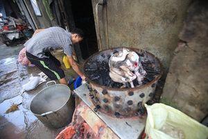 'Làng nghề' giết mổ hàng trăm con chó mỗi ngày ở Hà Nội
