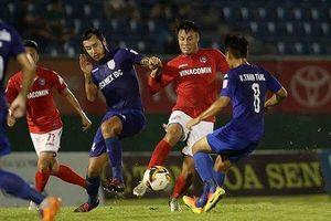 Vòng 22 V-League: B.Bình Dương giải quyết chuyện trụ hạng