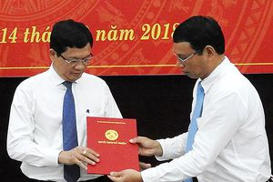 Ông Trần Phước Sơn được bổ nhiệm làm Giám đốc Sở KH-ĐT Đà Nẵng