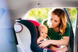 Nghiên cứu gây sốc: Ghế ngồi ô tô cho trẻ có thể bẩn hơn cả bồn cầu