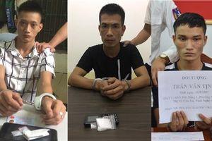 Một ngày triệt phá 3 vụ án về ma túy