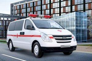Báo cáo Thủ tướng khi tiếp nhận xe cứu thương do doanh nghiệp biếu, tặng