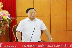 Đến năm 2021, Hương Khê giảm 1 xã, giảm 71 thôn/tổ dân phố