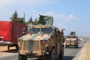 Thổ Nhĩ Kỳ đưa thêm nhiều thiết bị quân sự tới biên giới với Syria