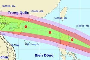 Siêu bão Mangkhut sẽ ảnh hưởng trực tiếp đến nhiều tỉnh, thành phố