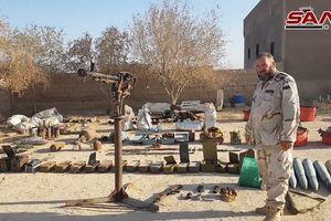 Quân đội Syria chiếm kho vũ khí IS tại tử địa Deir Ezzor