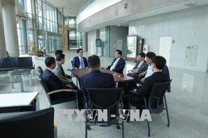 Khai trương Văn phòng liên lạc giữa hai miền Triều Tiên