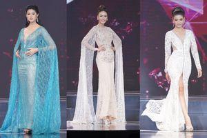 Diện váy áo cầu kỳ, thí sinh Hoa hậu Thế giới Thái Lan liên tục ngã 'sấp mặt' trên sân khấu