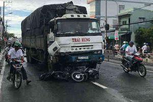 Tiết lộ lý do vụ xe tải đâm liên hoàn 8 xe máy ở An Giang