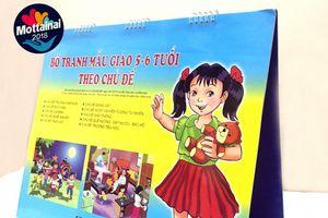 Bộ tranh sinh động chủ đề giao thông dành cho bé mẫu giáo