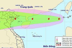 Hà Nội khẩn trương ứng phó với siêu bão Mangkhut