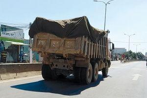 Xe quá tải tái lộng hành đường Quảng Nam