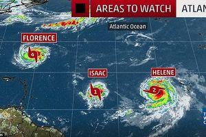 Mỹ dự báo Florence là 1 trong 10 cơn bão gây thiệt hại lớn nhất