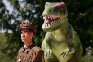 Hình ảnh đầy bất ngờ bên trong bảo tàng lịch sử tự nhiên ở Triều Tiên