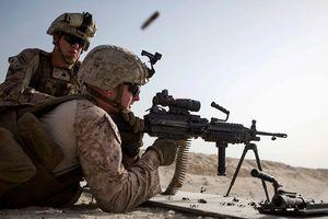 Lính thủy đánh bộ Mỹ tập trận với phiến quân ở miền Nam Syria