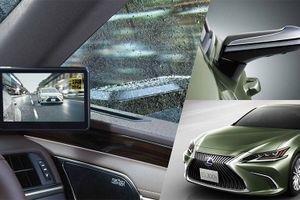 Siêu xe Lexus ES thay gương chiếu hậu bằng camera, công nghệ đột phá cực đỉnh