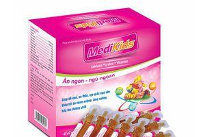 Thu hồi thực phẩm bảo vệ sức khỏe Medikids