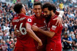 Liverpool tiếp tục dẫn đầu BXH sau trận thắng Tottenham