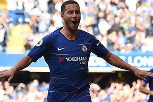 Hazard ghi hat-trick giúp Chelsea thắng 4-1, Man City hạ Fulham 3-0