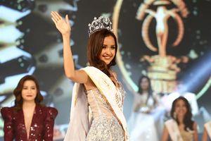 Ngọc Châu đăng quang Hoa hậu Siêu Quốc gia