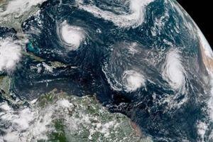 Không chỉ có Mangkhut, Florence, hàng loạt cơn bão đang cuồng nộ khuấy đảo trái đất