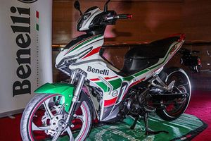 Xe máy Benelli RFS150i 'đối thủ' Yamaha Exciter và Honda Winner