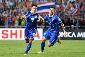 Tuyển Thái Lan không thể gọi 4 ngôi sao dự AFF Cup 2018
