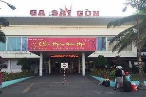Ga Sài Gòn nhận đăng ký mua vé tàu Tết tập thể