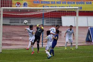Lượt về giải bóng đá nữ vô địch quốc gia: TKS.VN áp sát ngôi đầu