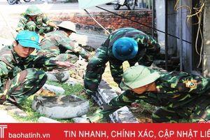 Hơn 2.000 ngày công giúp nhân dân Xuân Hội xây dựng NTM