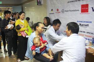 Operation Smile phẫu thuật miễn phí cho 100 trẻ bị dị tật hàm mặt