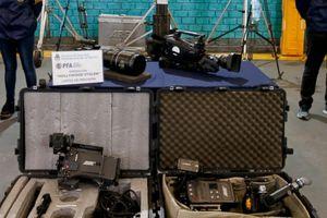 Argentina triệt phá băng nhóm chuyên trộm cắp các thiết bị quay phim từ Hollywood