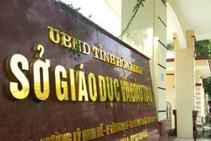 Hòa Bình: Bắt giữ Trưởng phòng Khảo thí liên quan vụ nâng điểm thi THPT Quốc gia