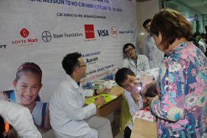 Mang lại nụ cười cho hơn 100 trẻ em em bị dị tật hàm mặt